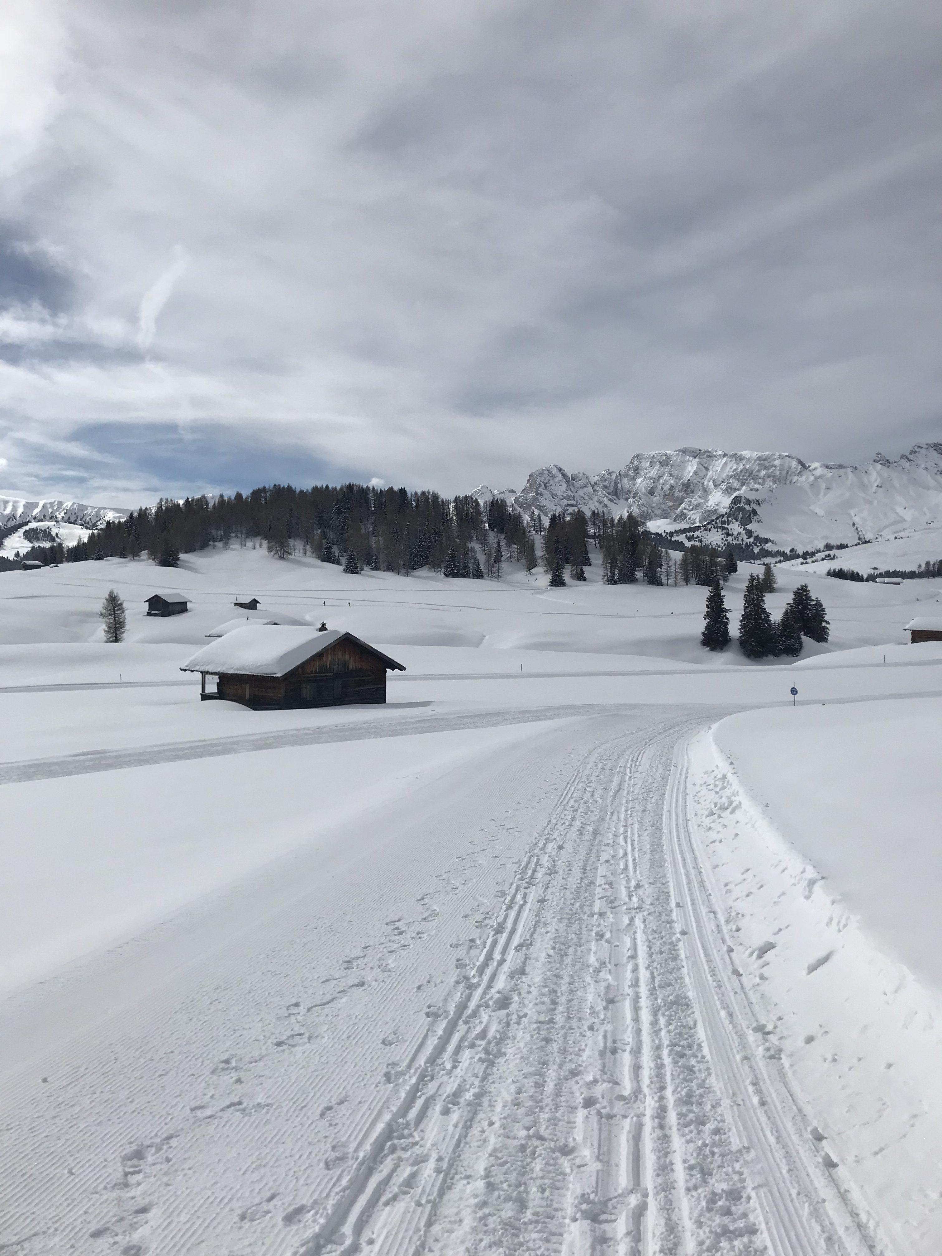 passeggiata invernale alpe di siusi
