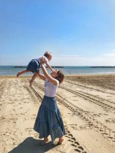 mamma al mare