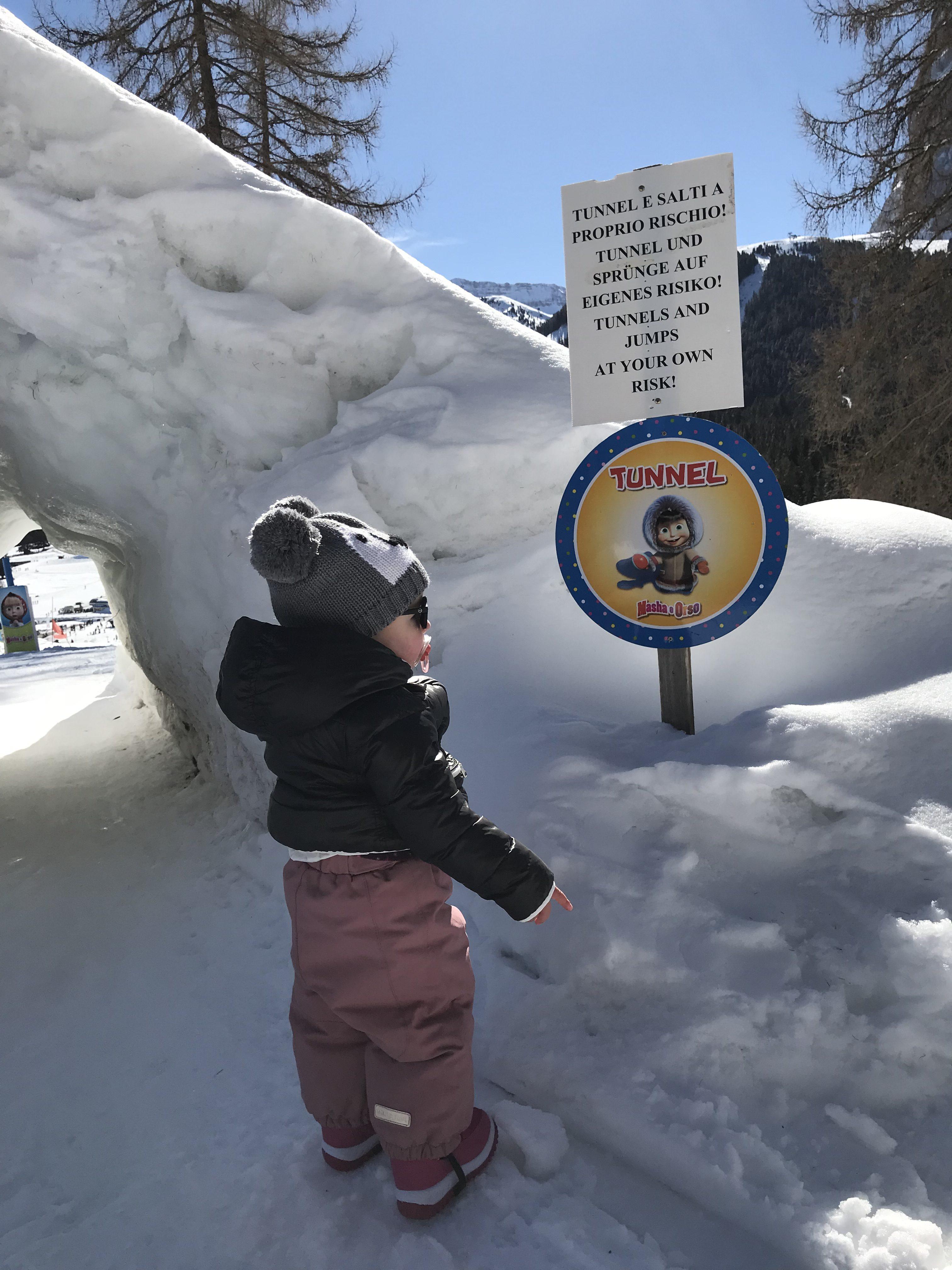 imparare a sciare in val gardena