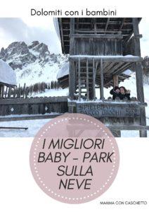 I migliori baby snow park sula neve