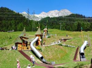 Svizzera natura bambini