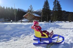 passeggiata neve Val Badia