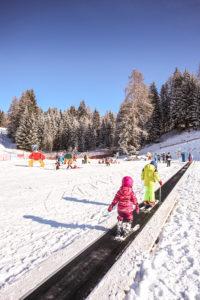 neve val di Fiemme bellamonte bambini